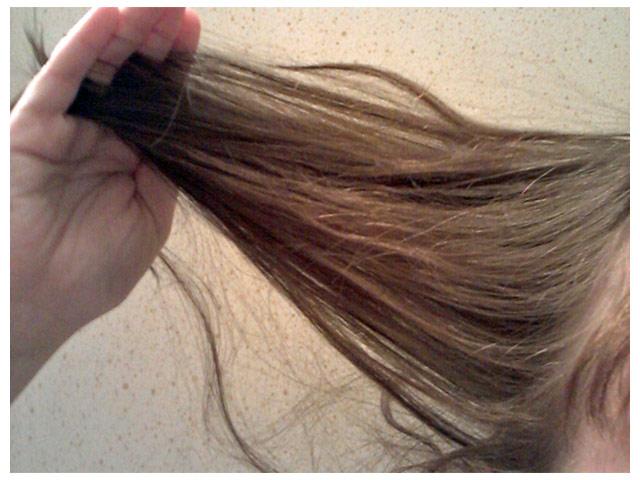 2011-08-15 Min hårfärg med utväxt i två-tre nyanser