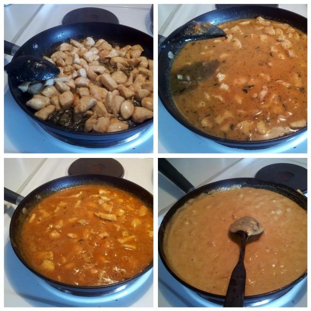 2011-08-15 Dagens middag Knorr kyckling curry