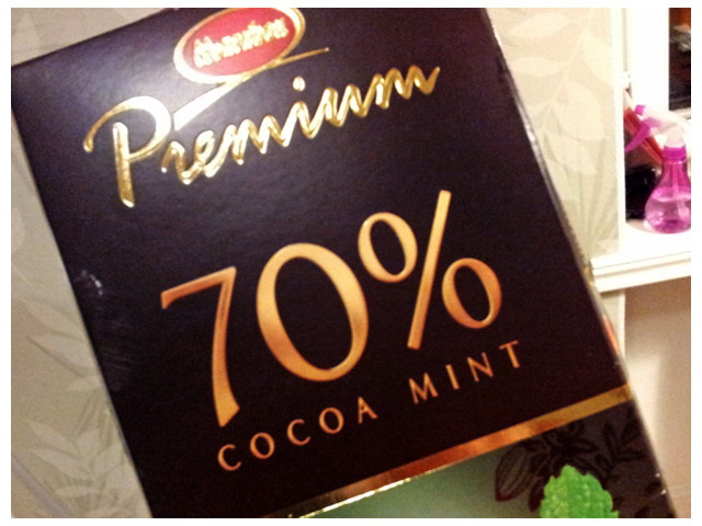 Marabou Premium 70% Cocoa Mint