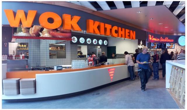 2011-08-23 Wok Kithen på nya Restaurangtorget på Väla Centrum