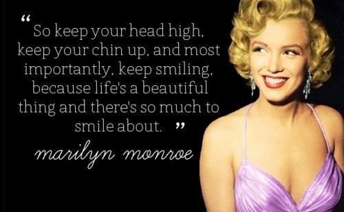 Marilyn Monroe citat