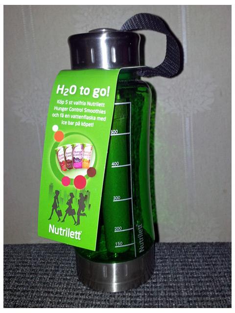 Köp 5 Nutrilett shakes få en vattenflaska med kylstav