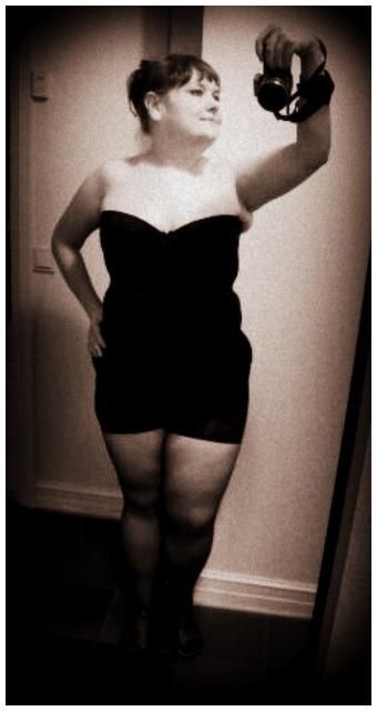 Jag, Helen Holmberg efter att ha gått ner mer än 30 kg