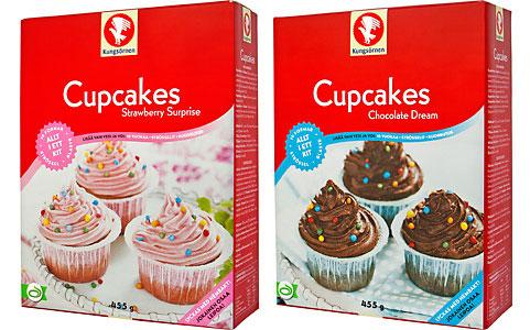 Cupcakes från Kungsörnen