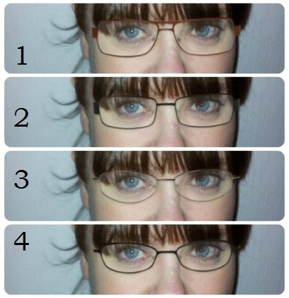 Glasögonbågar 1-4