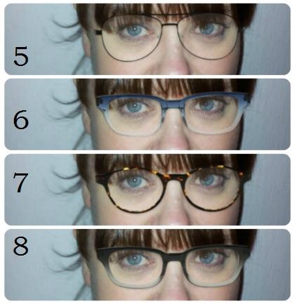 Glasögonbågar 5-8