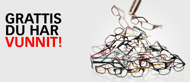 Lensway vinst gratis glasögon värda ca 600 kr
