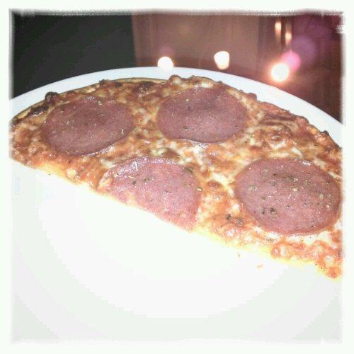 Halv Dr Oetker Salame pizza