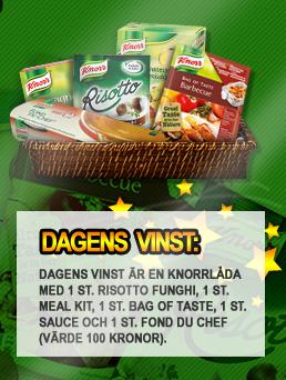 Knorr Julkalender - Dagens vinst 7 december