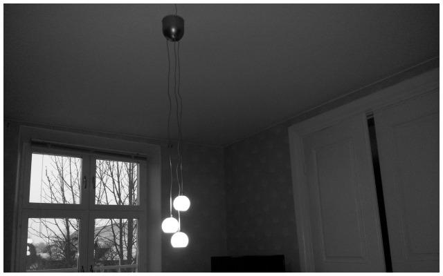 Nya IKEA lampan Minut, så otroligt fin i vårt vardagsrum