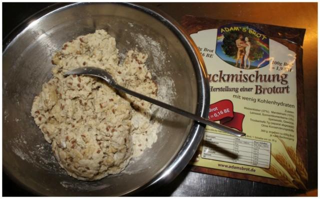 Receptet på det perfekta lchf brödet, Adams lchf brödmix från sockerfri.com