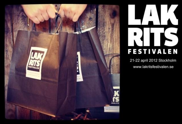 Lakritsfestivalen 2012 i Stockholm, 21-22 april.