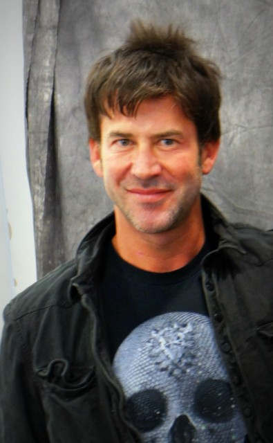 Joe Flanigan på Sci Fi, game & film convention Malmö 2012-03-03