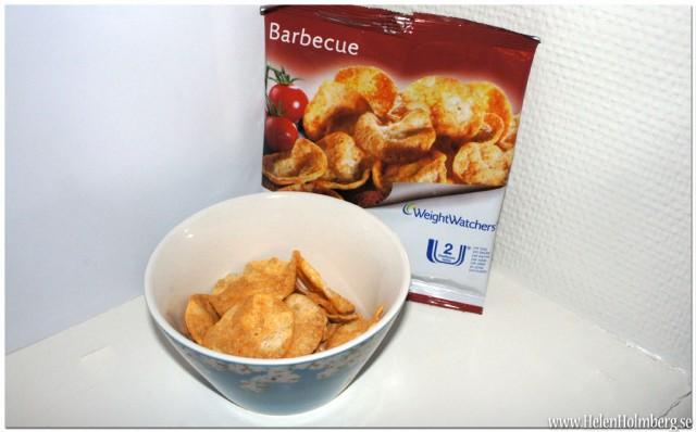 Viktväktarnas Barbecue chips 2 propoints/22 gram