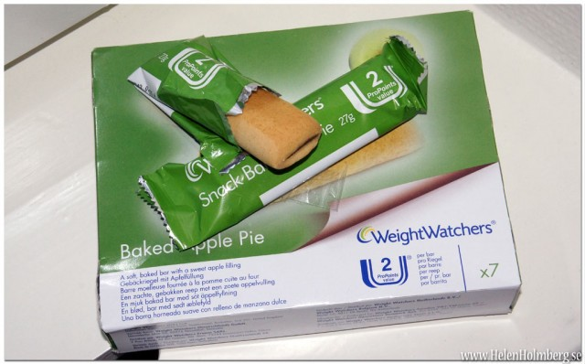 Viktväktarna Äpplepaj / Baked Apple Pie 2 propoints per bar