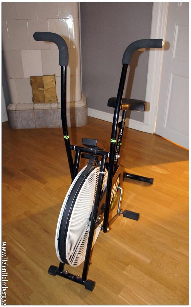 Motionscykel Skip Sport 990 Air som tränar både armar och ben