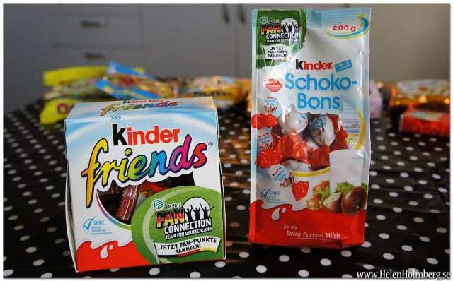 Kinder Friends och Schoko-Bons