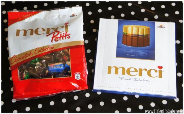 merci chokladask och petits