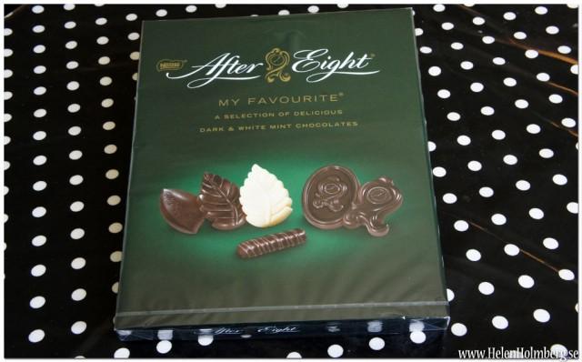 Älskar After Eight, mint och mörk choklad så föll för den här asken direkt