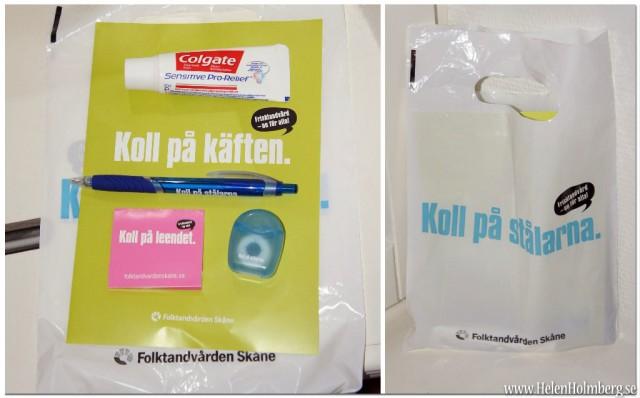Goodiebag från folktanvården, Skåne