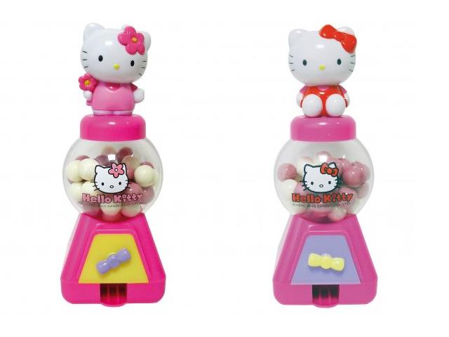 Hello Kitty Tuggummiautomat från roligaprylar.se