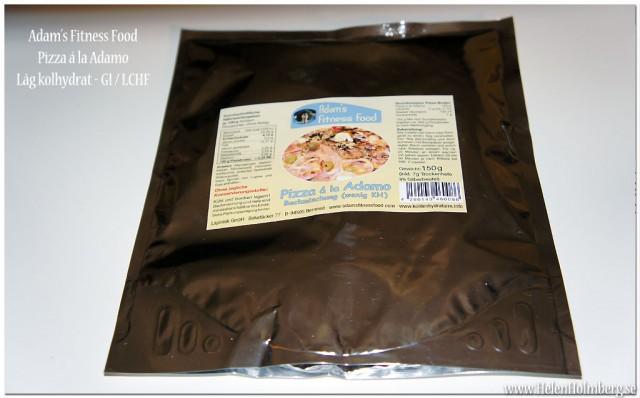 Pizza för LCHF, GI, Lågkolhydrat från sockerfri.com