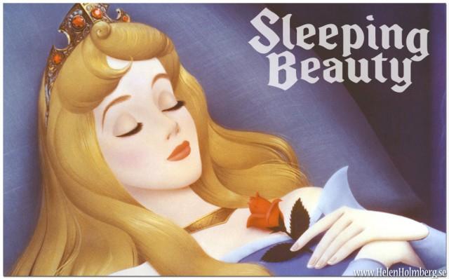 Sleeping beauty, Törnrosa tar sovmorgon