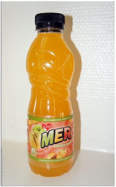 Mer fruktdryck i nya smaken Persika Melon