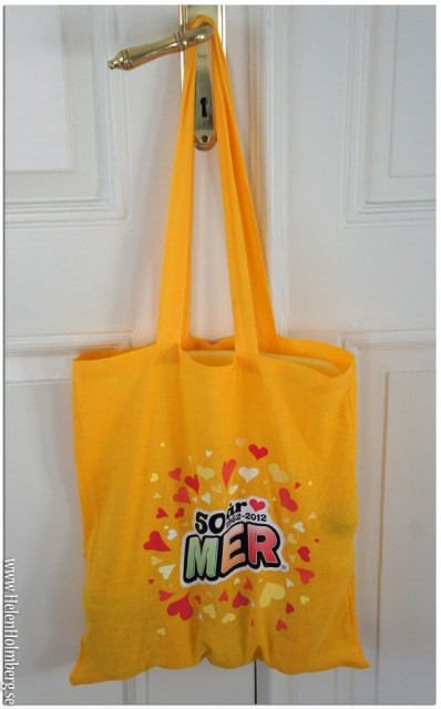 Goodiebag från Mer som firar 50 år i år