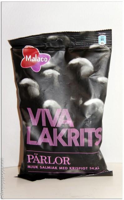 Nyhet från Malaco - Viva Lakrits - Pärlor