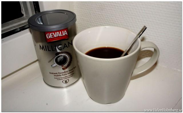 Gevalias nya snabbkaffe/ pulverkaffe Millicano