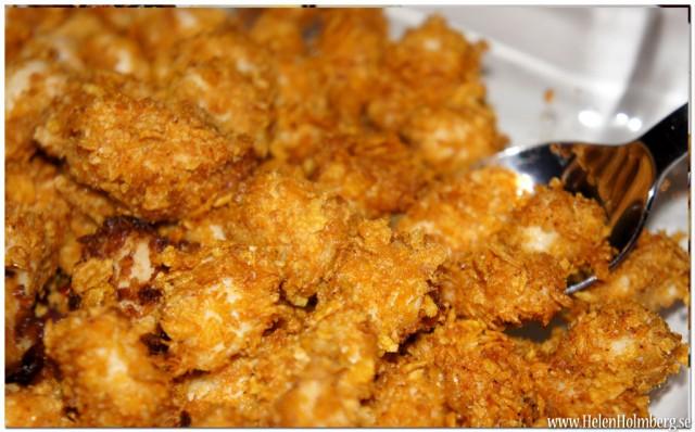Krispiga kycklingbitar