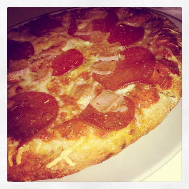 Pizza från Dr.Oetker