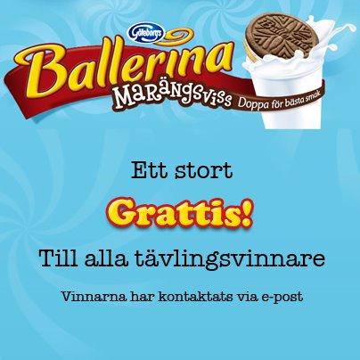 Vinnare i Ballerina tävling, Ballerina Marängsviss