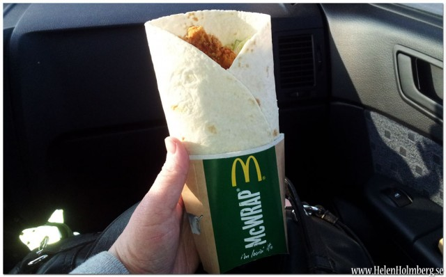 McWrapp Kyckling & bacon från McDonalds