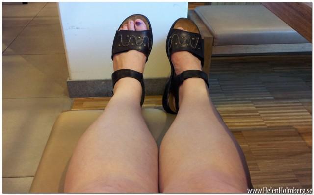 Sandalpremiär för 2012, rieker sandalerna på!