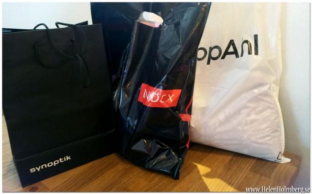 Shoppat på Synoptik, Lindex och KappAhl