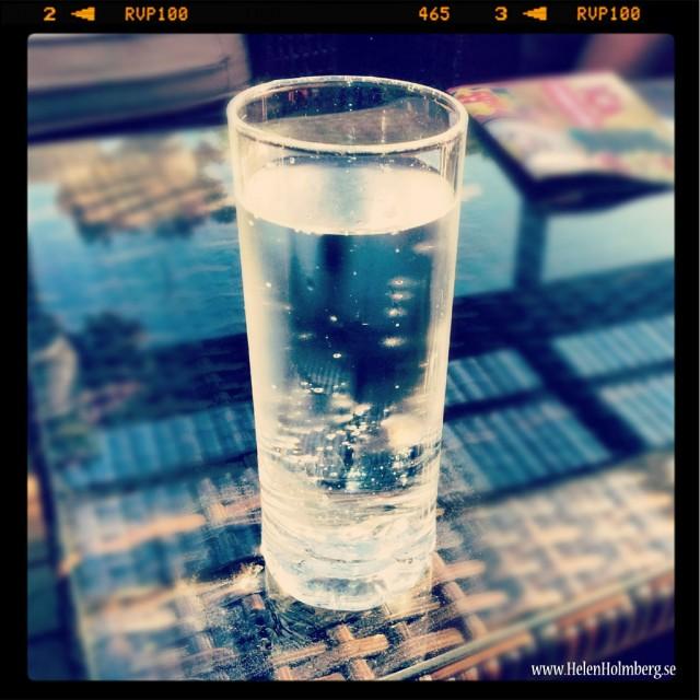 Favoritdrycken i värmen, vatten, vatten och mer vatten!