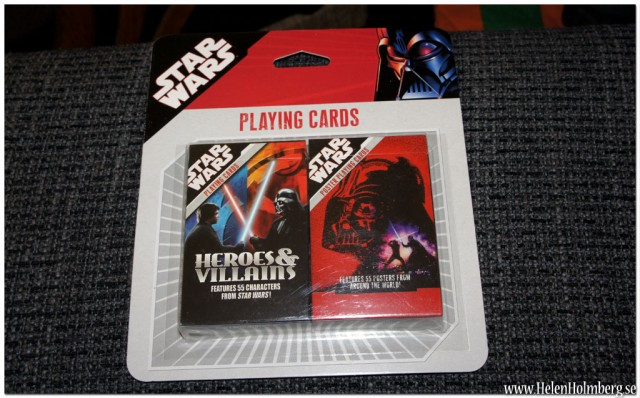 Star Wars 2-pack kortlekar 25 kr från Gekås Ullared AB