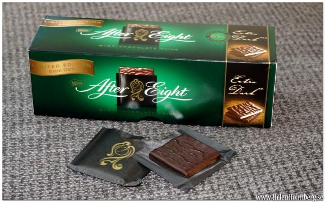 After Eight special edition extra mörk choklad, present från mamma och pappa