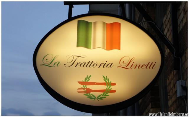 La Trattoria Linetti, den godaste italienska restaurangen i Helsingborg