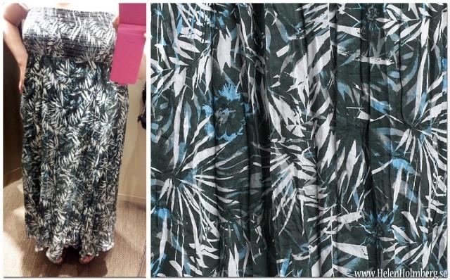 Grön långkjol /maxiklänning från KappAhl strl 44/46 pris 199 kr