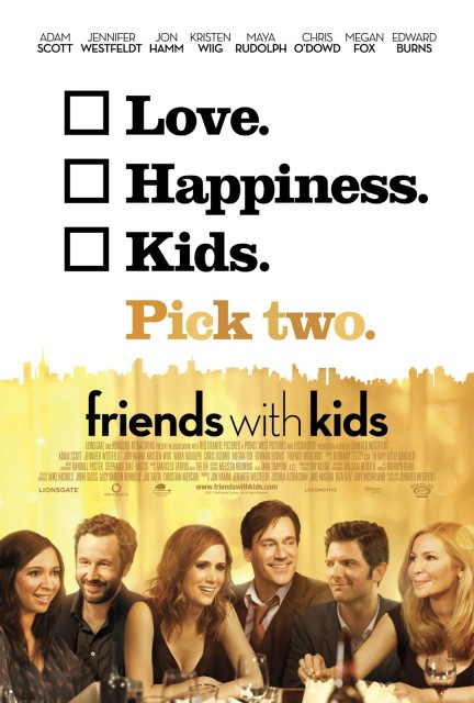 Friends with kids, film vänner med barn