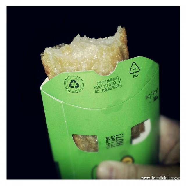 Äpplepaj från McDonalds, laktosfria