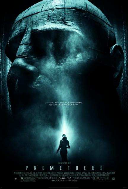 Prometheus, film med bland annat svenska Noomi Rapace
