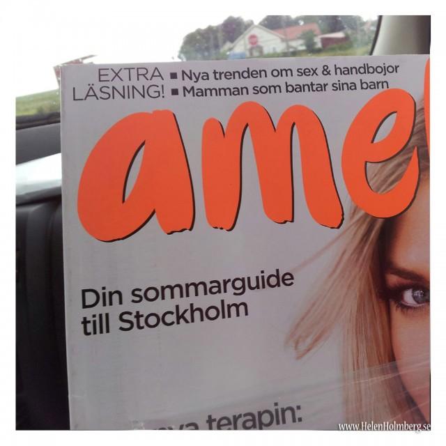 I senaste Amelia finns en Stockholmsguide, så passande då vi åker om en vecka