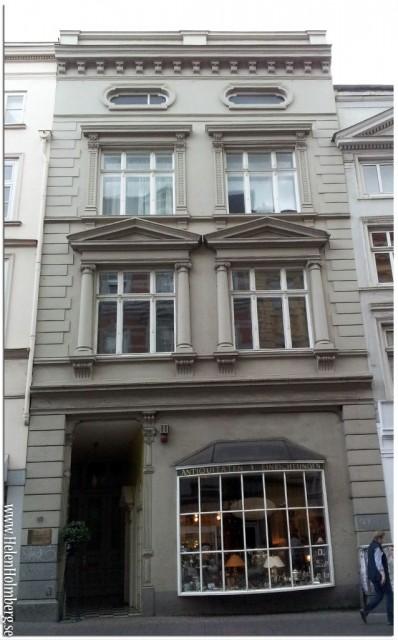 """Ett av alla fantastiska fina gamla hus i Gamla Stan / """"Old town"""", Lubeck"""