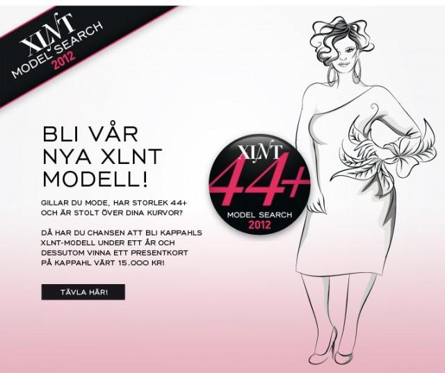 KappAhls XLNT modelltävling 2012