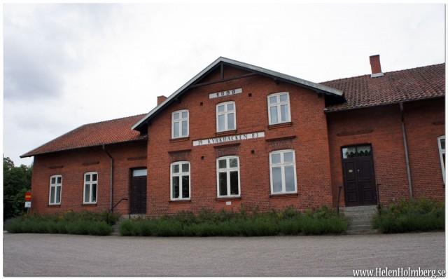 Kyrkbacken vid Veberöds kyrka