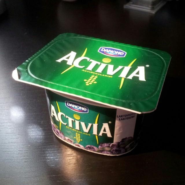 Activia laktosfri yoghurt med bra bakterier för magen